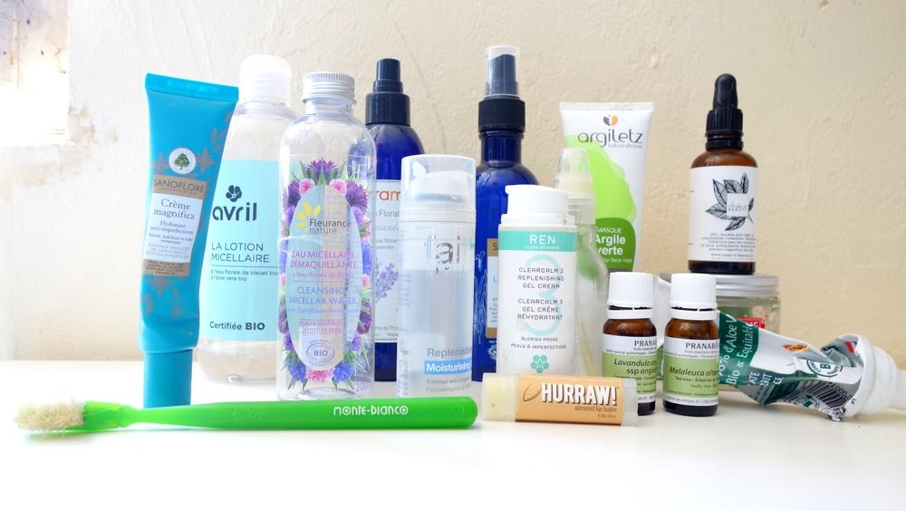 les produit naturel pour le visage